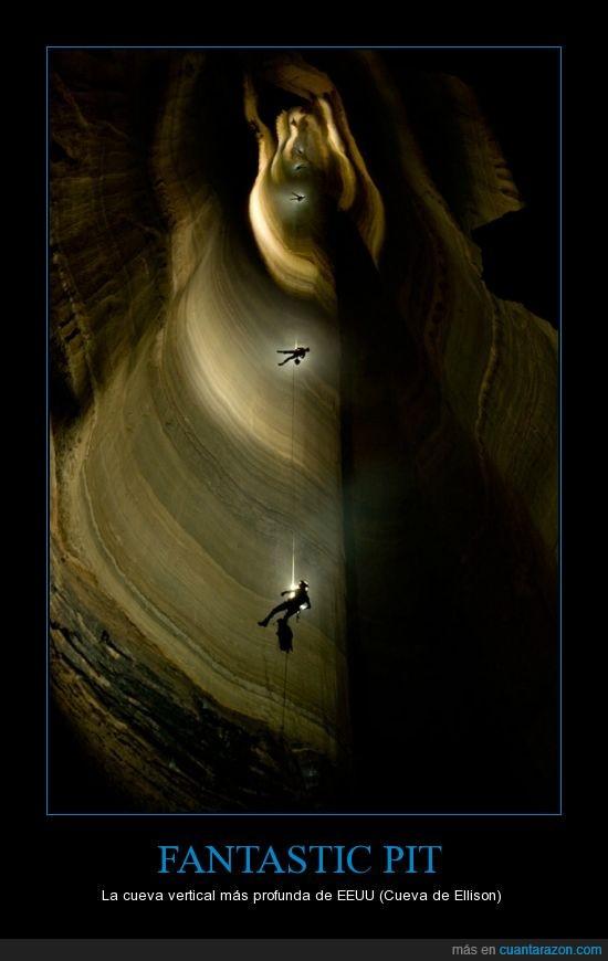180,Cavernicolas,Cueva,ellison,Miedo,USA,Vertical,Vertigo