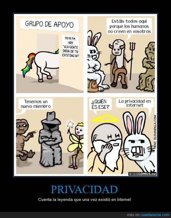 chupa cabras,creer,dios,ET,hada ultra rara,internet,mentira,no existe,pascua,privacidad,unicornio
