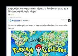 Enlace a Encuentra a todos los Pokémon de Google