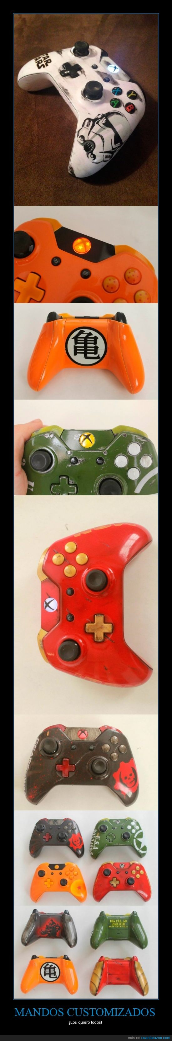 bola de dragon,Dragon ball,gears of war,iron man,mando,microsoft,star wars,stromtrooper,xbone,xbox one