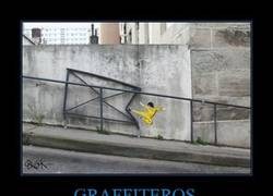 Enlace a La patada de Bruce Lee hecha graffiti