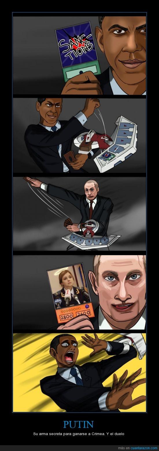 natalia poklonskaya,obama,putin,senpai,yu-gi-oh,¡hora del d-d-d-duelo!