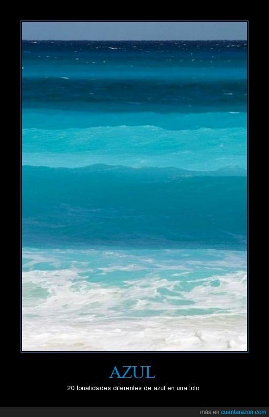 azul,diferente,mar,tipos,tonalidad