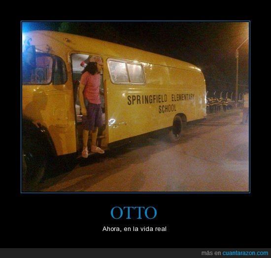 autobus,otto,Simpson,springfield