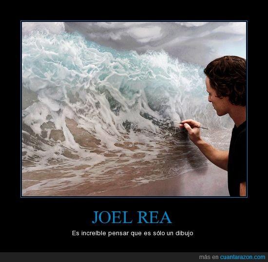 arte,artista,cuadro,mar,olas,pintor,realista