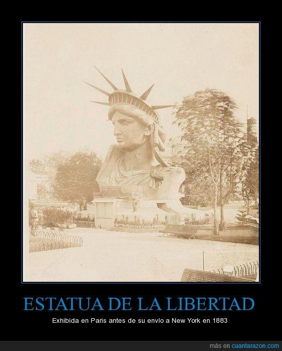 EEUU,estatia,Francia,libertad,paris,se exhibia en parques