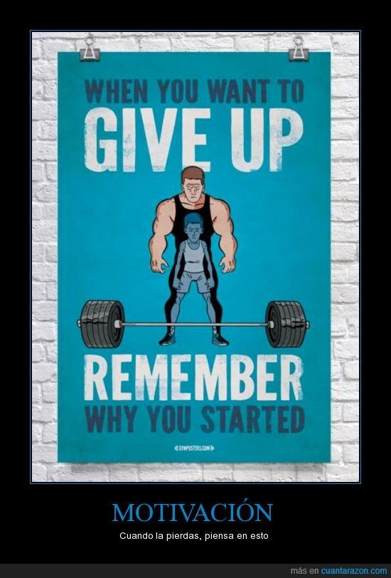 empezar,empezaste,entrenar,gimnasio,gym,levantar,pesa,recordar,recuerda,rendir