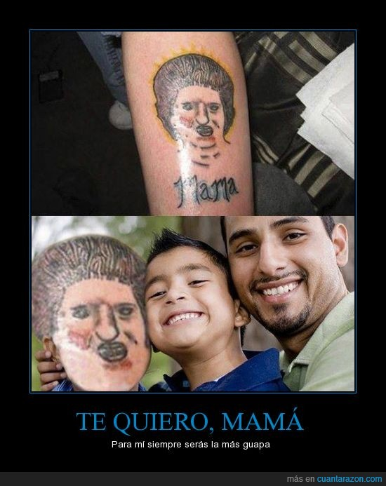 fail,familia,feo,madre,mama,real,tatuaje,terrible