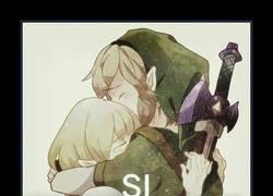 Enlace a Zelda y Link, todos opinamos igual