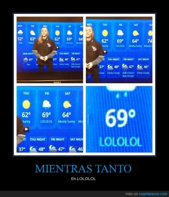 clima,noticias,Servicio Meteorológico,tiempo