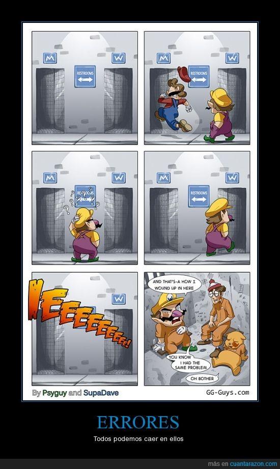 baños,error,letra,Mario,mens,waldo,Wallie,Wario,Winnie the pooh,womens