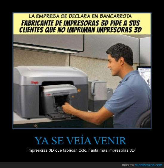 banca rota,crisis,dinero,economía,fabricar,impresoras 3D,imprimir