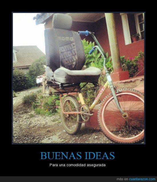 algodon,asiento,bicicleta,coche,comodidad,ideas,sillon