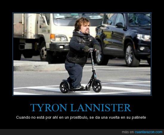calle,crack,el gnomo,GOT,JDT,juego de tronos,patinete,peter dinklage,Tyron Lannister