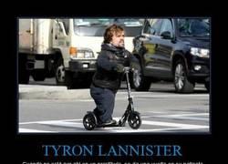 Enlace a Peter Dinklage (Tyrion Lannister) mola hasta así