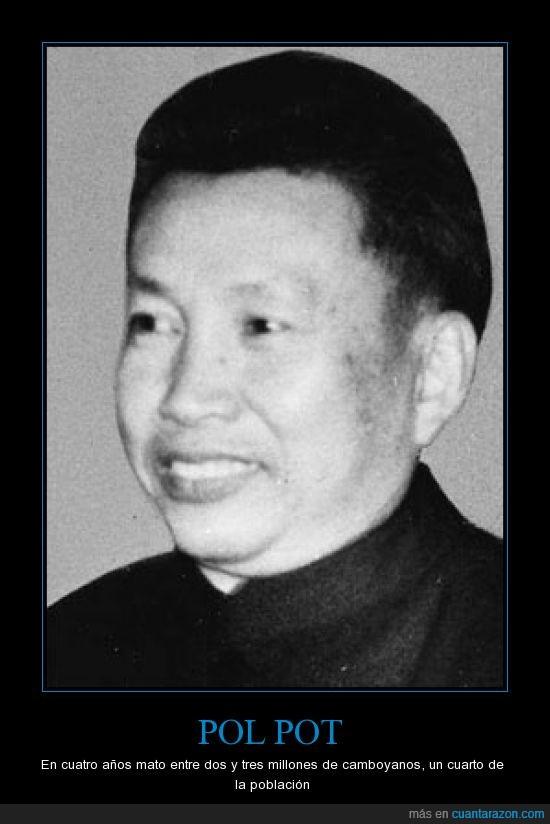 Camboya,comunismo,Genocidio,Jemeres rojos,Pol Pot