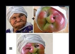 Enlace a Señora con cara de manzana deforme... WTF?