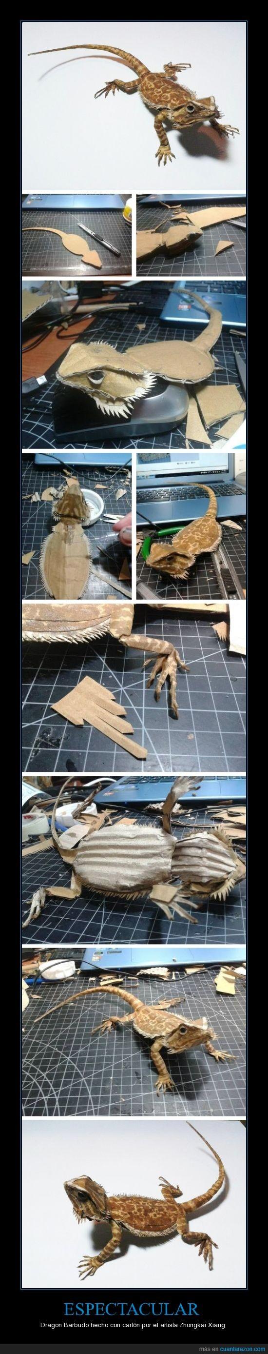 cartón,dragon barbudo,siii ya se es asiático y por eso lo ha hecho,Zhongkai Xiang,鍾凱翔