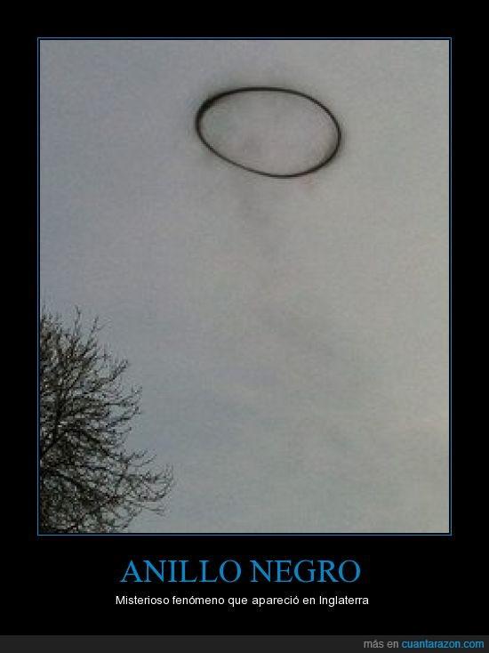 ALIENS,anillo,humo,I WANT TO BELIEVE,meteorologo,misterio,negro,nube
