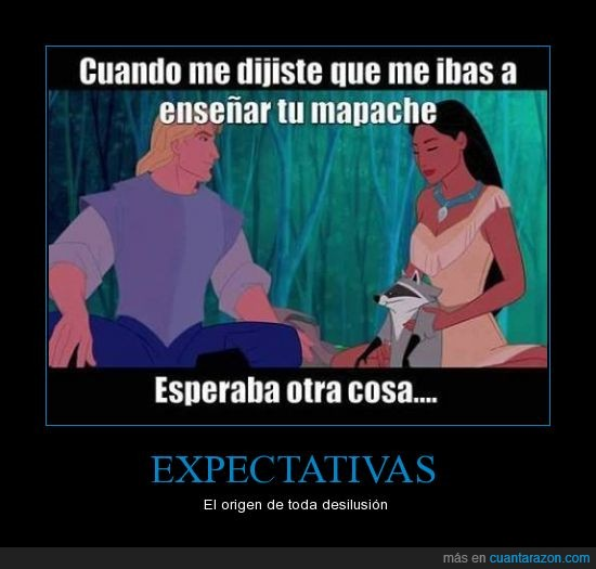 Disney,enseñar,expected,If you know what I mean,john smith,mapache,pocahontas