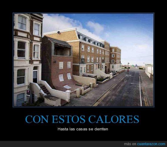 calle,calor,casas,derrumbe,estilo,fachada