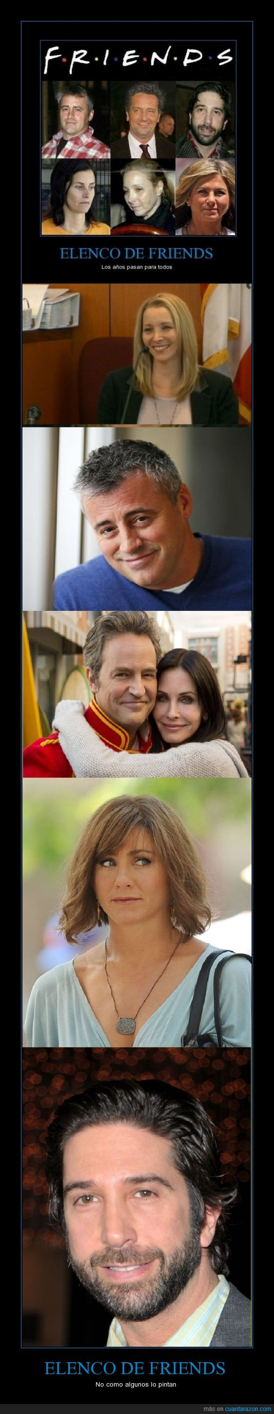 actor,actriz,envejecer,friends,joey sigue teniendo mas mujeres que todos nosotros juntos,mayor,phoebe sigue estando buena,tiempo