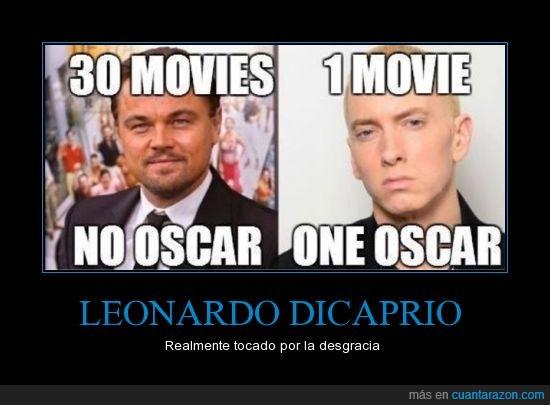 8 miles,8 millas,cancion,Eminem,Leonardo DiCaprio,Oscar