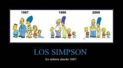 Enlace a Hasta los Simpson cambian con el tiempo