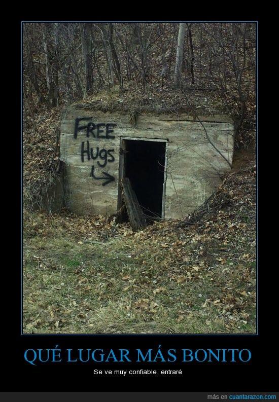 abrazos gratis,Así le dijeron ami prima,free hugs,seguridad,violación en 3...2...1