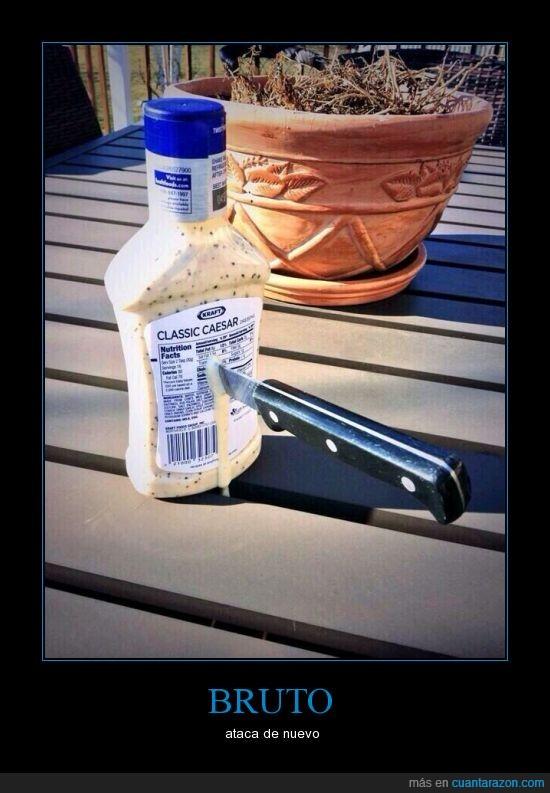 aderezo,asesinato,bruto,cesar,cuchillo,emperador,kraft,salsa