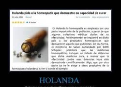 Enlace a Venga, Homeopatía, demuéstralo