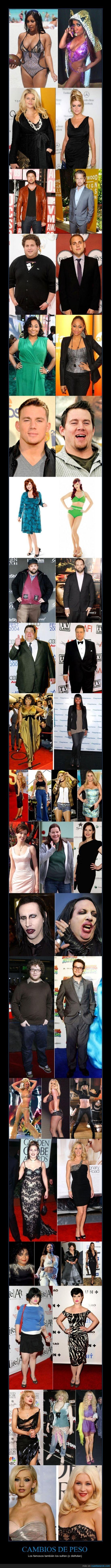 adelgazar,antes,christina aguilera,delgada,delgado,despues,engordar,gorda,gordo,peso,seth rogen