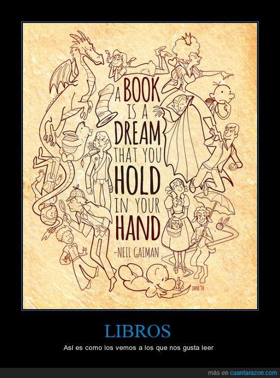 cargar,el juego de ender,el principito,gran frase,libros,manos,neil gaiman,percy jackson,sherlock holmes,sueños