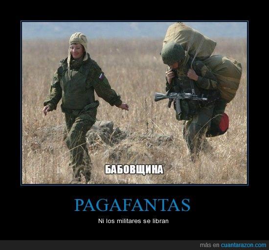 bartulos,Ejército ruso,Friendzone,llevar,Pagafantas,peso,Soldado