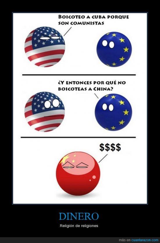 china,comunismo,cuba,dinero,eeuu,estados unidos