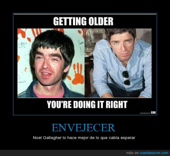 cejas,edad,high flying birds,liam gallagher,mejorar,noel gallagher,oasis,tiempo,vino