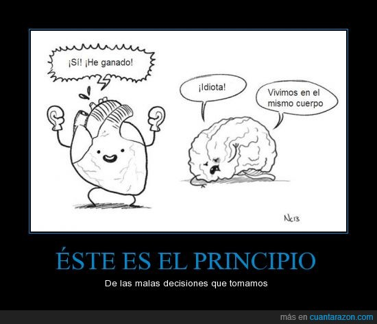 cerebro,corazon,decisiones,lucha,pelea