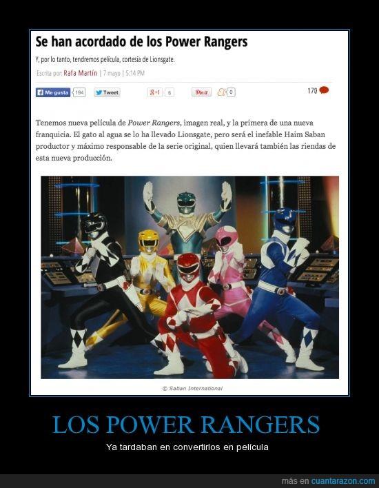 adaptacion,lionsgate,pelicula,power rangers,responsable