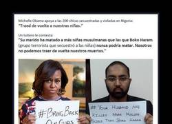 Enlace a Tuitero contesta a Michelle Obama con el mayor ZASCA del mundo