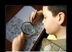 Enlace a Los intrincados diseños de un niño de 11 años