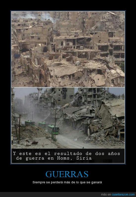 caos,guerras,homs,ruinas,siria