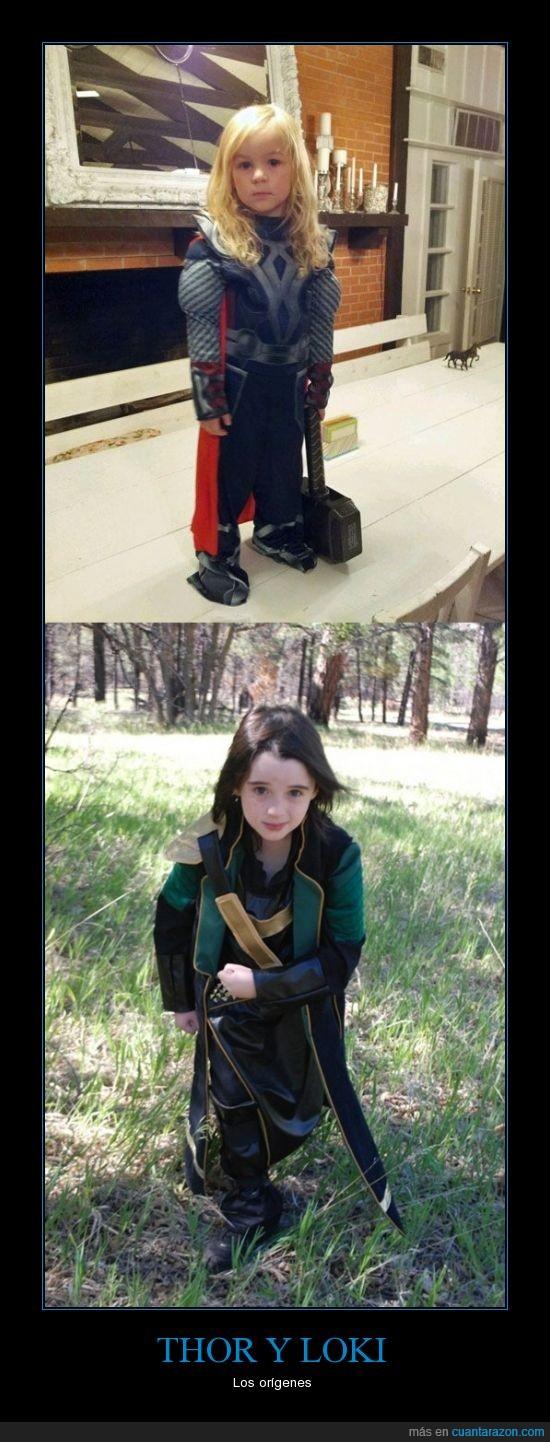 comic,cosplay,disfraz,loki,niño,nordico,pelazo,rubio,thor