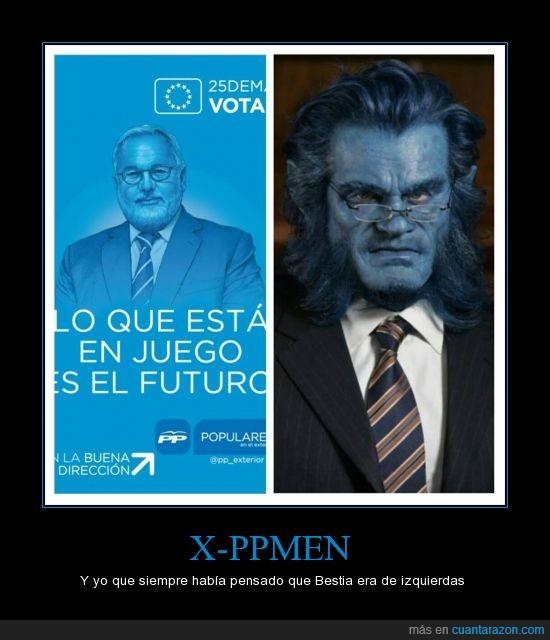 azul,bestia,elecciones,mutante,política,pp,x-men,xmen
