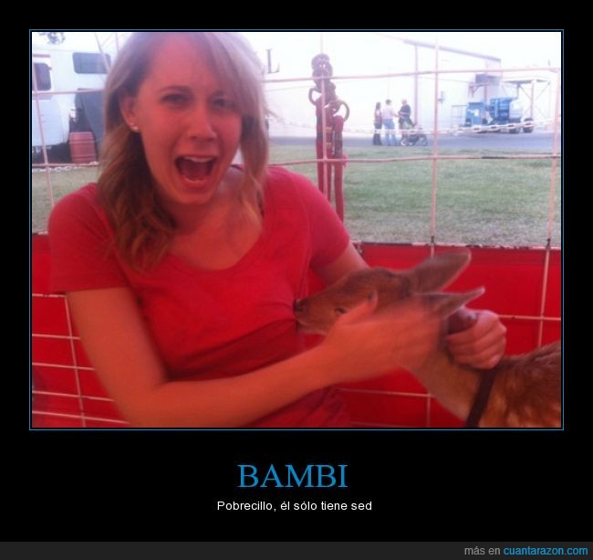 bambi,besar,chupar,ciervo,leche,masticar,morder,pervertidos todos,sed