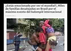 Enlace a Oh, sí, el Mundial de Brasil, qué bonito todo...