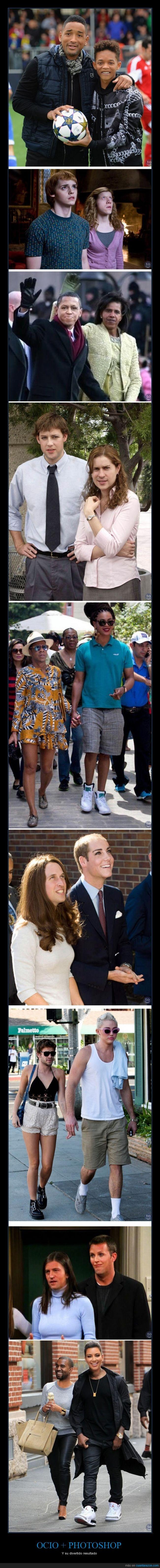 actores,cambio de caras,famosos,gracioso,obama,photoshop,will smith