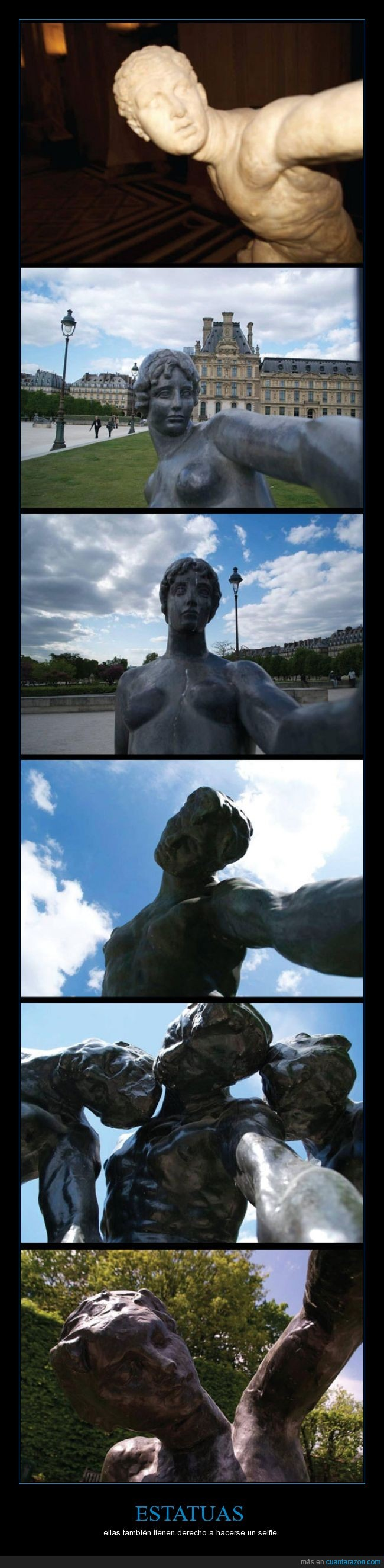 autofoto,autoretrato,brazo,escultura,estatua,foto,foto tuenti,selfie
