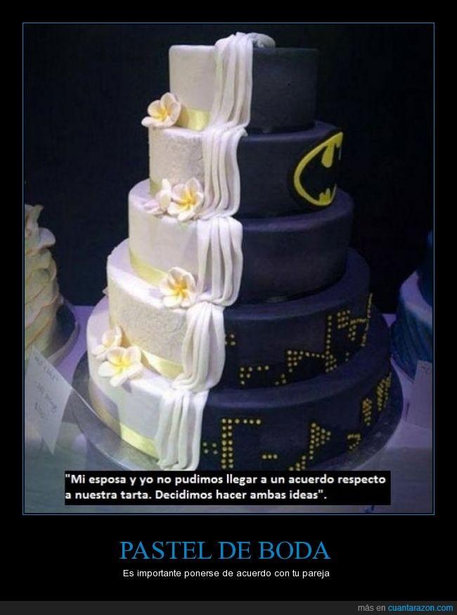 batman,boda,esposa,esposo,matrimonio,pastel,tarta