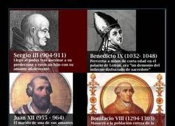 Enlace a Los peores y más depravados Papas de la historia