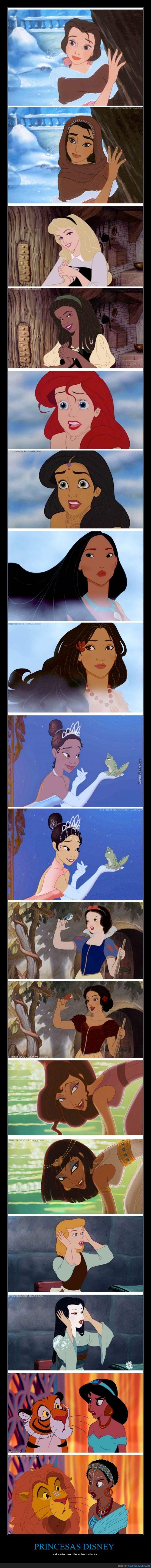 Culturas,Disney,Diversidad,León,Princesas,Yo vería las pelis